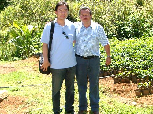 2005年 コスタリカ農園主と
